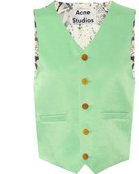 Acne Studios - Janay Wool-blend Vest - Lyst