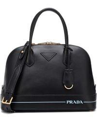 Prada - Mirage Leather Shoulder Bag - Lyst