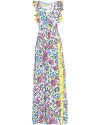 5cc811aea Baum und Pferdgarten - Exclusivo en Mytheresa – vestido Aiza de mezcla de  seda y crepé