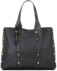 3b2f89404bfa Jimmy Choo - Lockett Leather Shopper Bag - Lyst