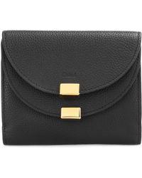 Chloé - Georgia Leather Wallet - Lyst