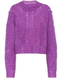 Isabel Marant - Irren Mohair And Wool-blend Sweater - Lyst