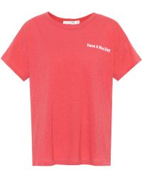Rag & Bone - Have A Nice Day Cotton T-shirt - Lyst