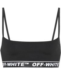 Off-White c/o Virgil Abloh - Logo Sports Bra - Lyst