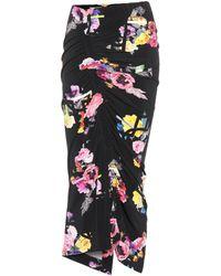 Preen By Thornton Bregazzi - Cosmia Floral-printed Skirt - Lyst