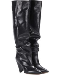 c9ea219c3cf Isabel Marant - Lokyo Leather Knee-high Boots - Lyst