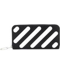 Off-White c/o Virgil Abloh - Diag Medium Leather Wallet - Lyst