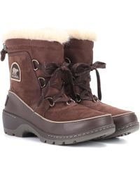 Sorel - Torino Leather And Suede Snow Boots - Lyst