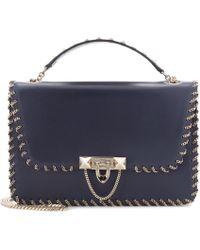 Valentino - Garavani Demilune Small Leather Shoulder Bag - Lyst