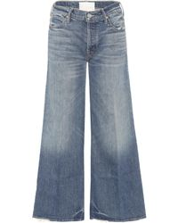 Mother | The Stunner Roller Ankle Jeans | Lyst