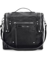 McQ - Convertible Box Bag Loveless Leather Shoulder Bag - Lyst