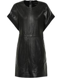 Isabel Marant - Costa Leather Dress - Lyst