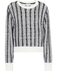 Public School - Nabila Wool-blend Striped Sweater - Lyst