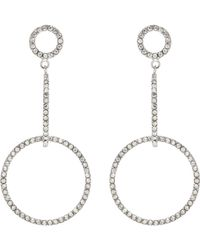 Isabel Marant | Crystal-embellished Earrings | Lyst