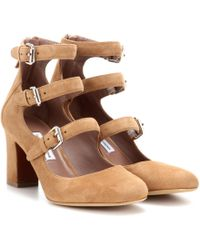 Tabitha Simmons - Ginger Suede Court Shoes - Lyst