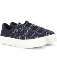 Opening Ceremony - Cici Smocked Slip-on - Lyst