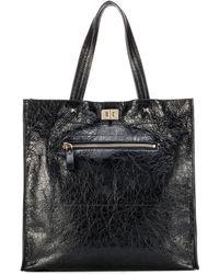 Valentino - Garavani Leather Shopper - Lyst