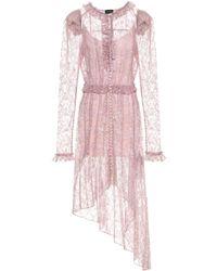 Magda Butrym - Morelia Embroidered Silk Dress - Lyst