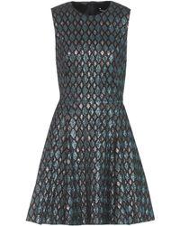 Dolce & Gabbana - Sleeveless Jacquard Dress - Lyst