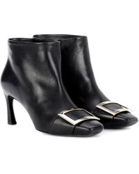 Roger Vivier - Ankle Boots Trompette Extra Low - Lyst