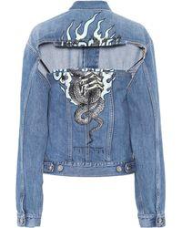 Unravel - Deconstructed Denim Jacket - Lyst