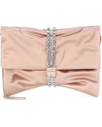 Jimmy Choo - Chandra Satin Clutch - Lyst
