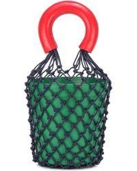 STAUD - Moreau Leather Bucket Bag - Lyst