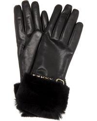 Valentino - Handschuhe Rockstud aus Leder - Lyst