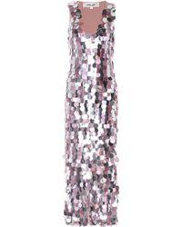Diane von Furstenberg - Embellished Silk Dress - Lyst