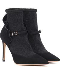Sophia Webster - Bottines en daim Lucia - Lyst