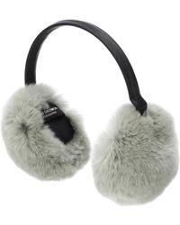Yves Salomon - Fur Ear Muffs - Lyst