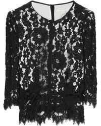 Marc Jacobs - Lace Blouse - Lyst