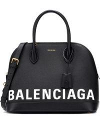 Balenciaga - Ville M Leather Tote - Lyst