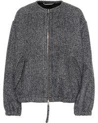 Rochas - Plaid Wool-blend Jacket - Lyst