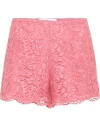 Valentino - Lace Shorts - Lyst