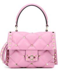 Valentino - Gavarani Candy Quilted Handbag - Lyst