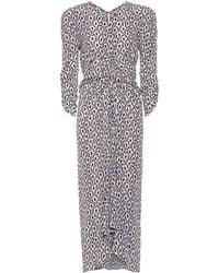 Isabel Marant - Albi Printed Silk Dress - Lyst