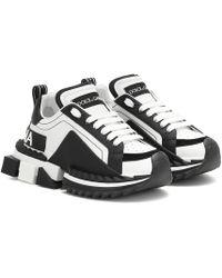 Dolce & Gabbana Sneakers Super Queen in pelle