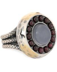 Bottega Veneta - Sterling Silver Ring - Lyst