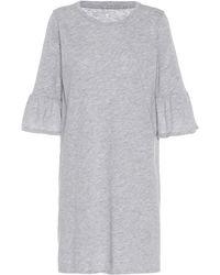 Velvet - Annabelle Cotton-blend Dress - Lyst