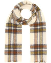 Isabel Marant - Suzanne Checked Wool-blend Scarf - Lyst