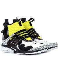 Nike - Air Presto Mid Acronym Sneakers - Lyst