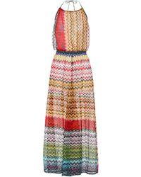 Missoni - Knitted striped dress - Lyst