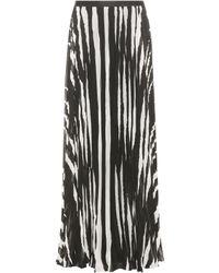 Tory Burch - Lucea Printed Maxi Skirt - Lyst