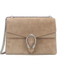 ef7950e83f50 Gucci - Dionysus Medium Suede Shoulder Bag - Lyst · Gucci - Dionysus Small  Leather ...