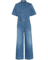 Stella McCartney - Combi-pantalon en jean - Lyst