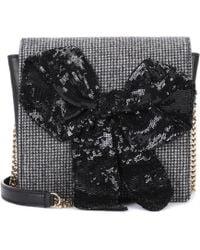 Rochas - Exclusive To Mytheresa. Com – Embellished Leather Shoulder Bag - Lyst