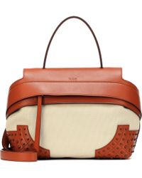 Tod's - Wave Medium Leather Tote - Lyst