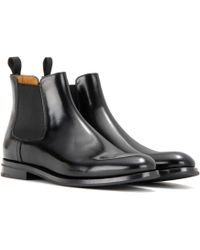 d94704125c21 Church s - Monmouth Leather Ankle Boots - Lyst