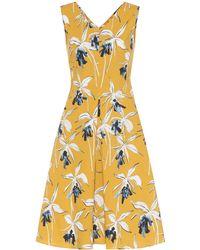Max Mara - Negozi Sleeveless Cotton Dress - Lyst